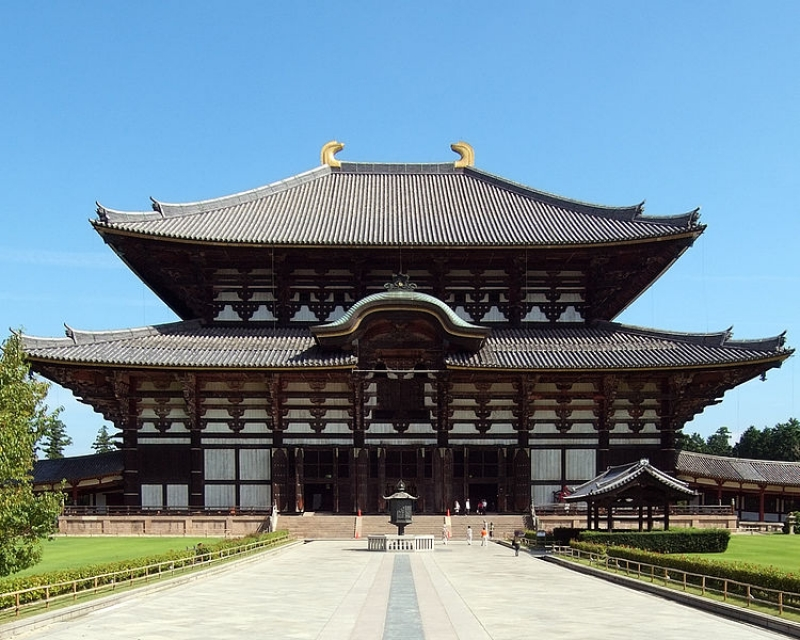 Front part of Todaiji temple