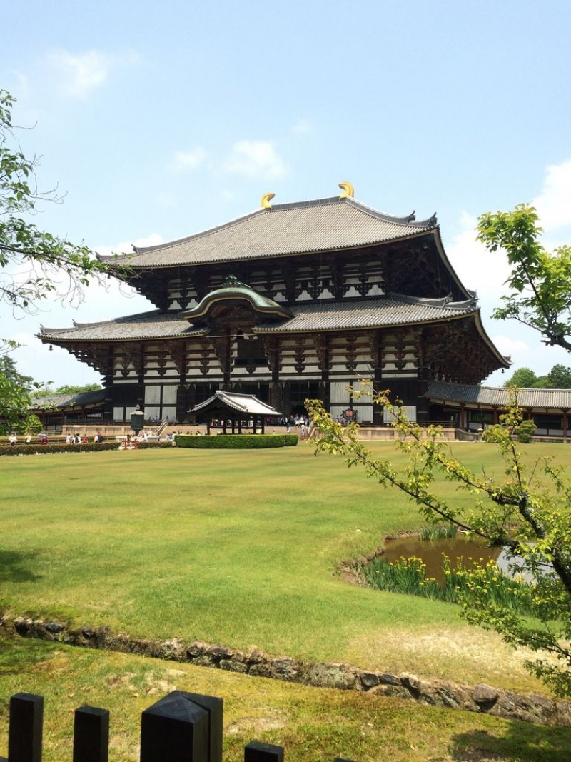 Todaiji temple  taken from different angle
