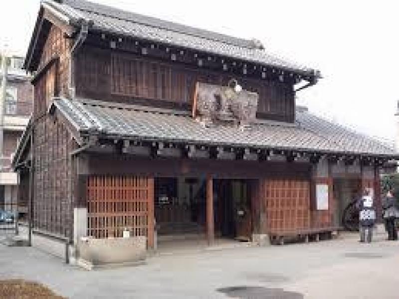 An old liquor house in Yanaka