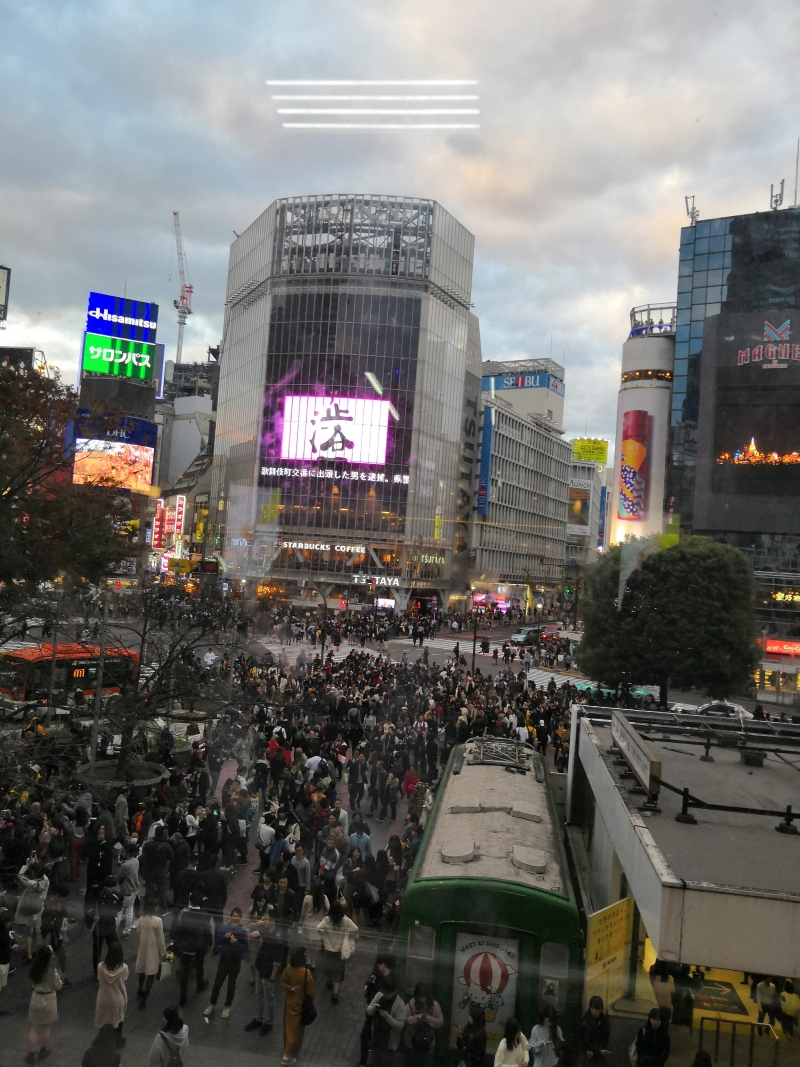 Shibuya crossing is  the symbolic place of Japan.