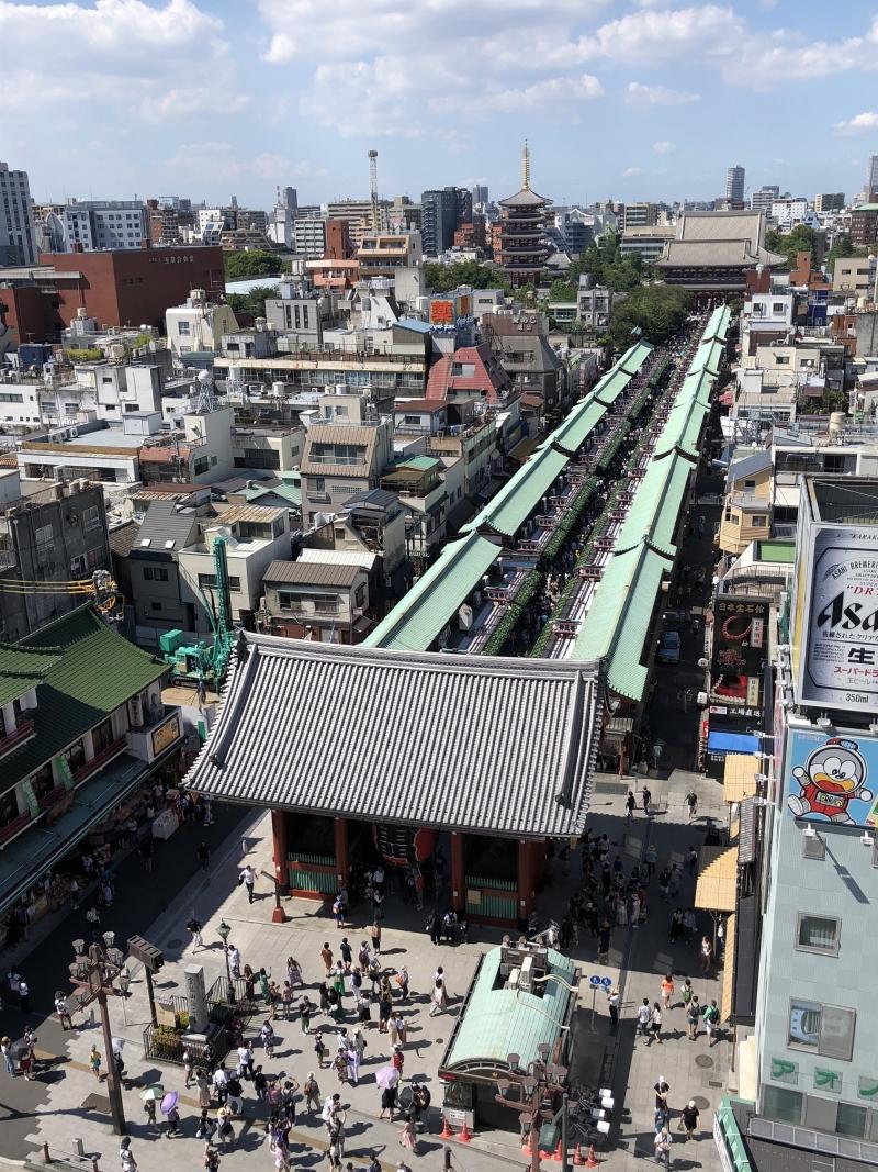 Asakusa: Nakamise shopping street