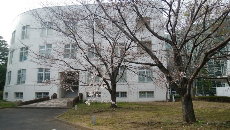 Part of the Barrack Building still exists adjacent to the National Museum of Art Tokyo