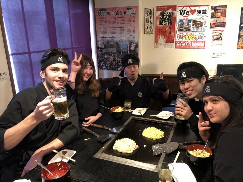 You can eat NINJA FOOD! NINJA Curry, Udon or Pasta!