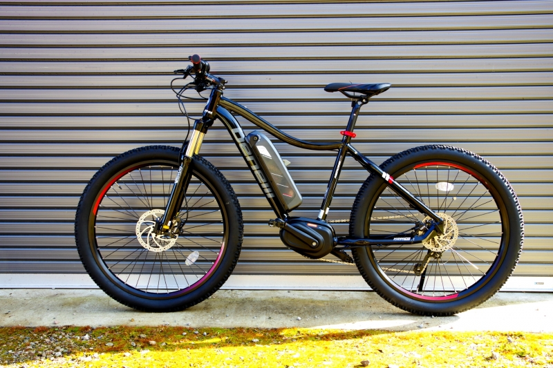 The latest electric assist MTB is available!