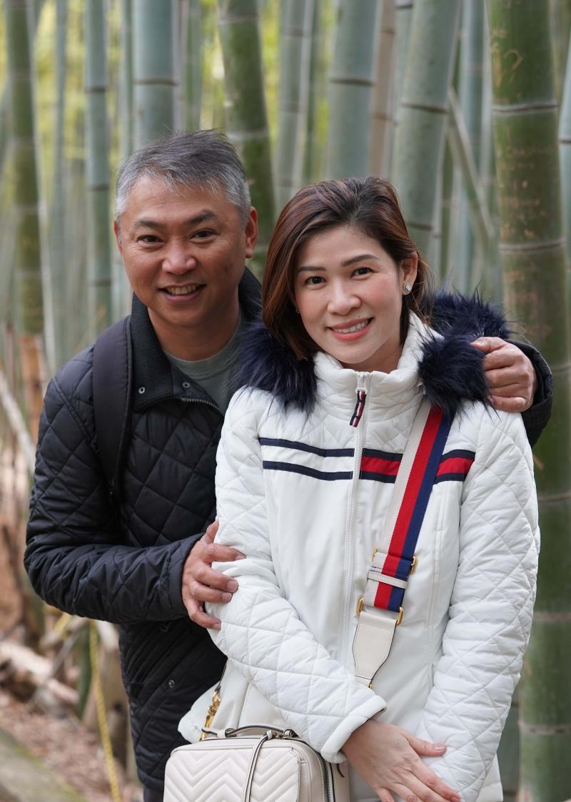 Hidden bamboo forest located in Fushimi Inari