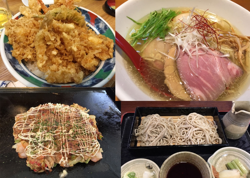 If you don't like seafood, try some other Japanese cuisine such as Tempura, Ramen noodles, Soba buckwheat noodles and Okonomiyaki (Japanese pizza).