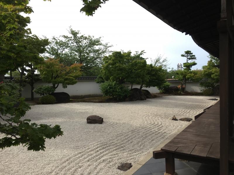 Japanese garden in Kiyosu castle