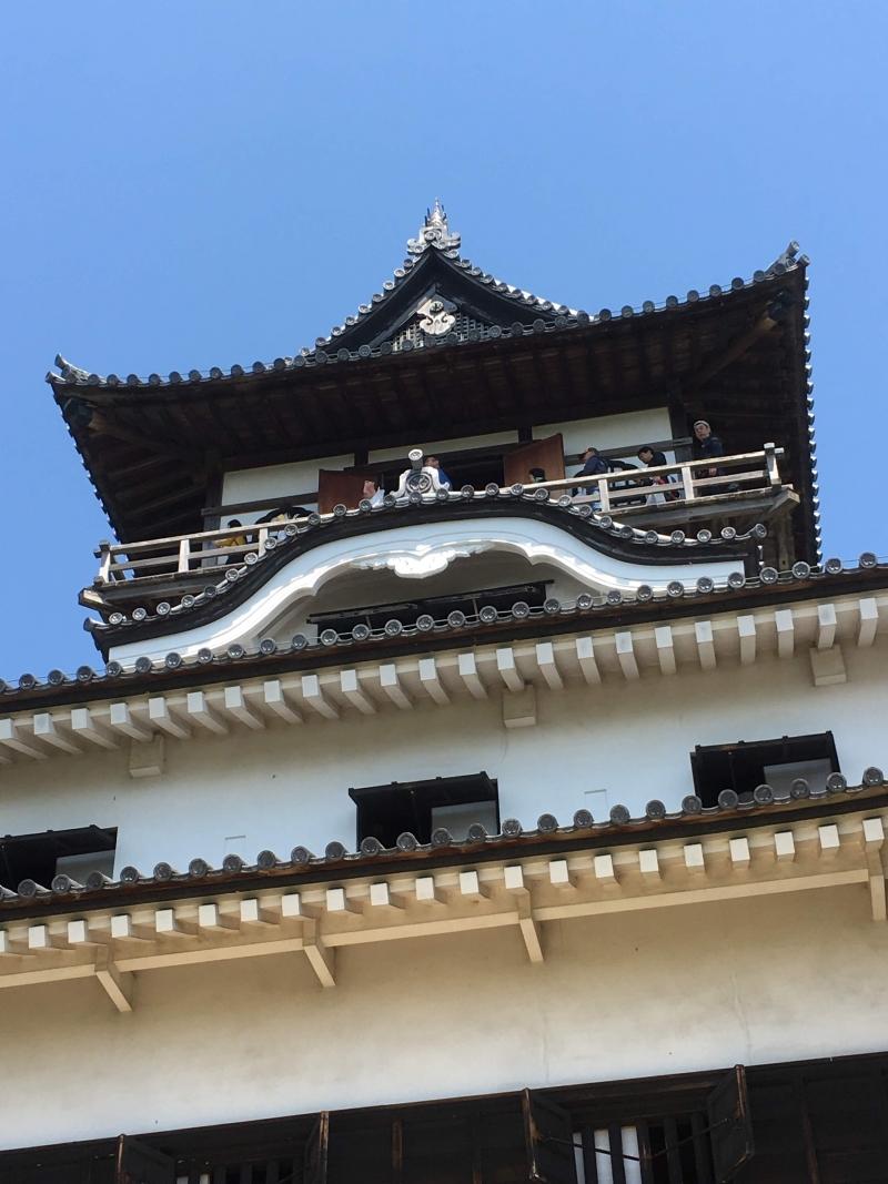 Inuyama Castle tenshukaku tower