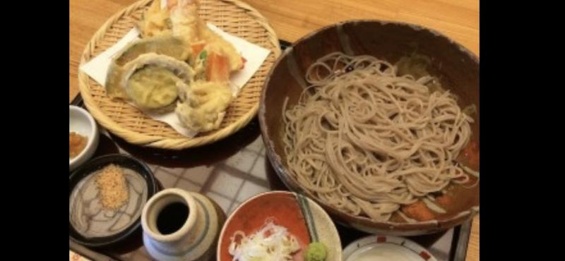 Lunch (noodle, tenpura,etc)
