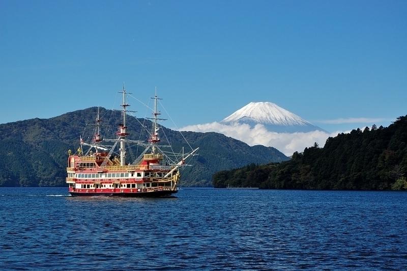 Leisurely Pirate boat cruise on Ashi Lake.