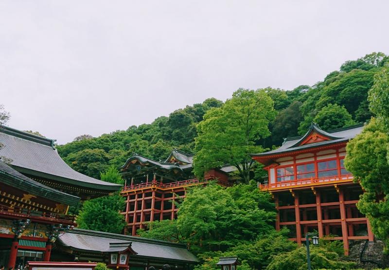 Yutoku Inari Shrine in Kashima