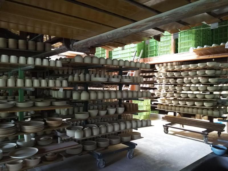 Pottery Studio in Arita