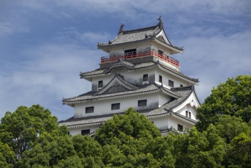 Karatsu Castle in Karatsu