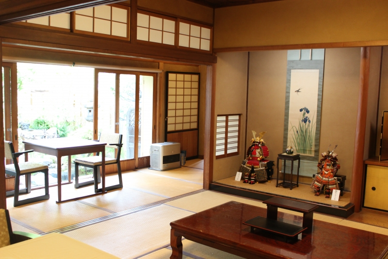 Japanese tea time at a Buddhist Temple