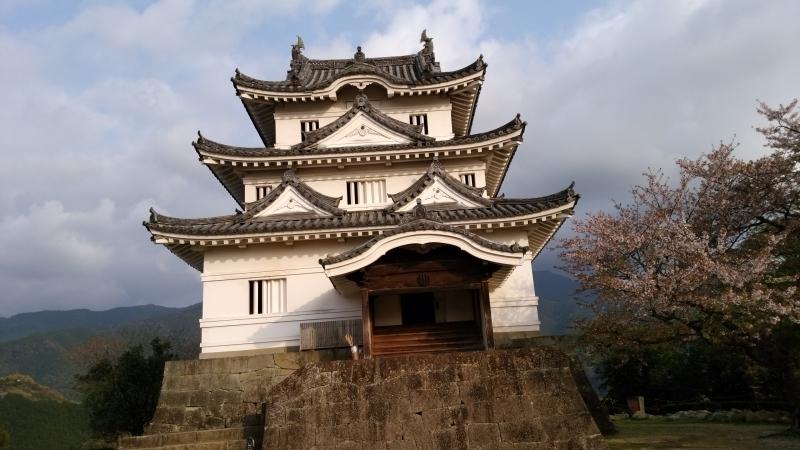 Uwajima Castle keep