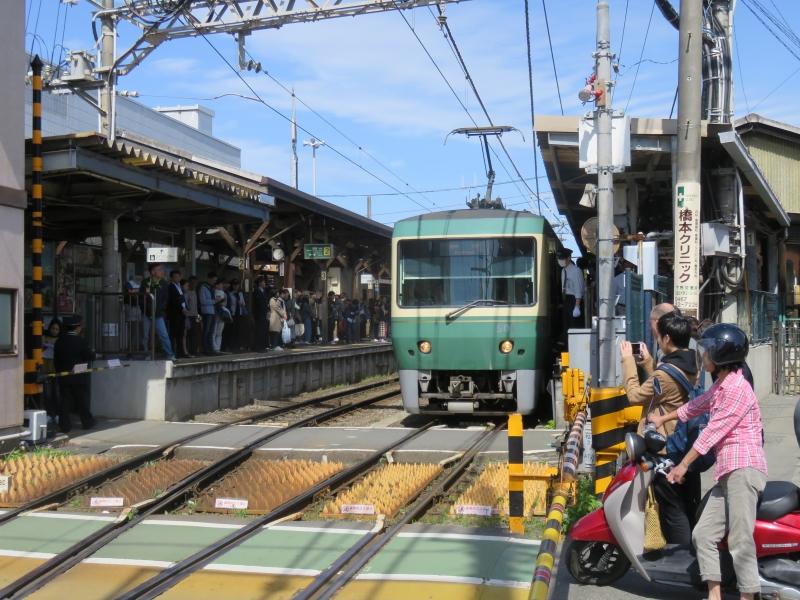 Nostalgic Enoshima Electric Railway (Enoden in short)