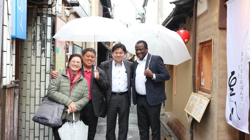 At Ponto-cho street (1 of 2)