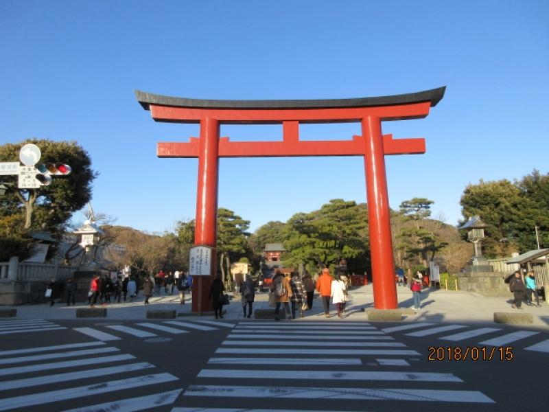 Tsurugaoka Hachimangu Shrine)