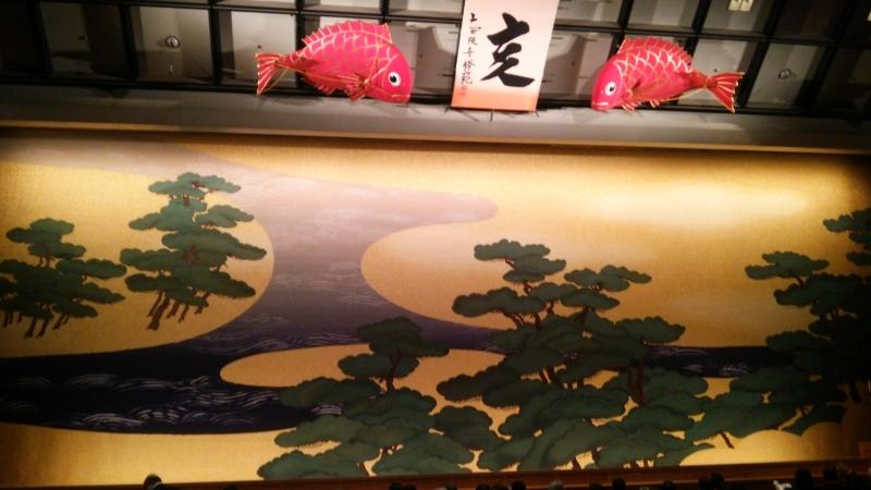 UNESCO intangible cultural asset, BUNRAKU, puppet play theater,Osaka