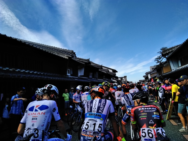 International road racing, Tour of Japan Stage 4 Mino in May. Super cool!