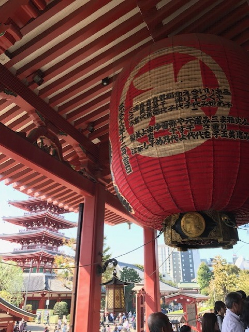 El templo Senso en Asakusa