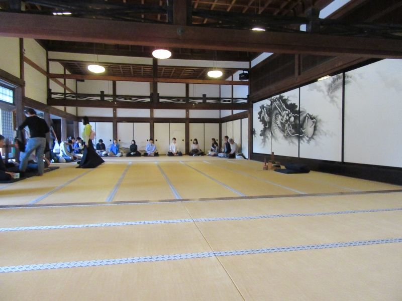 Zen Meditation at Kencho-ji temple