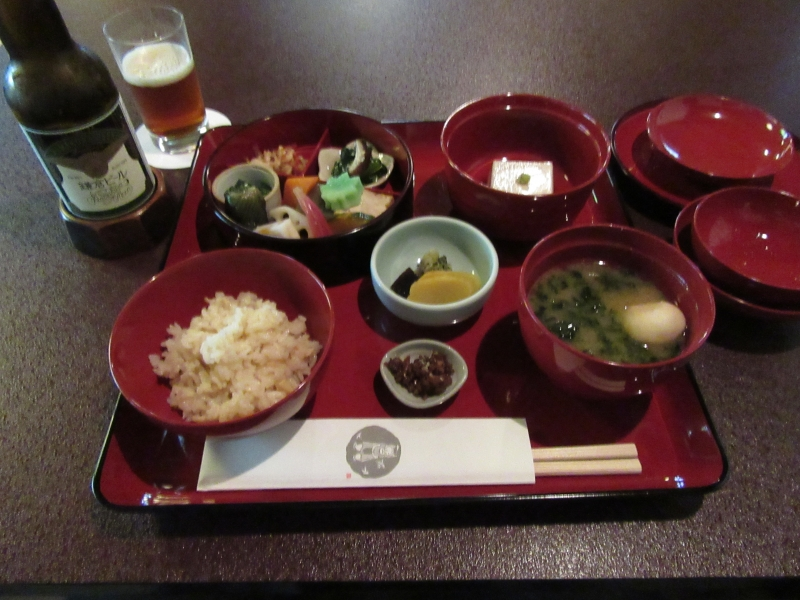 Shojin-ryori, or vegetarian dishes for Buddhist monks