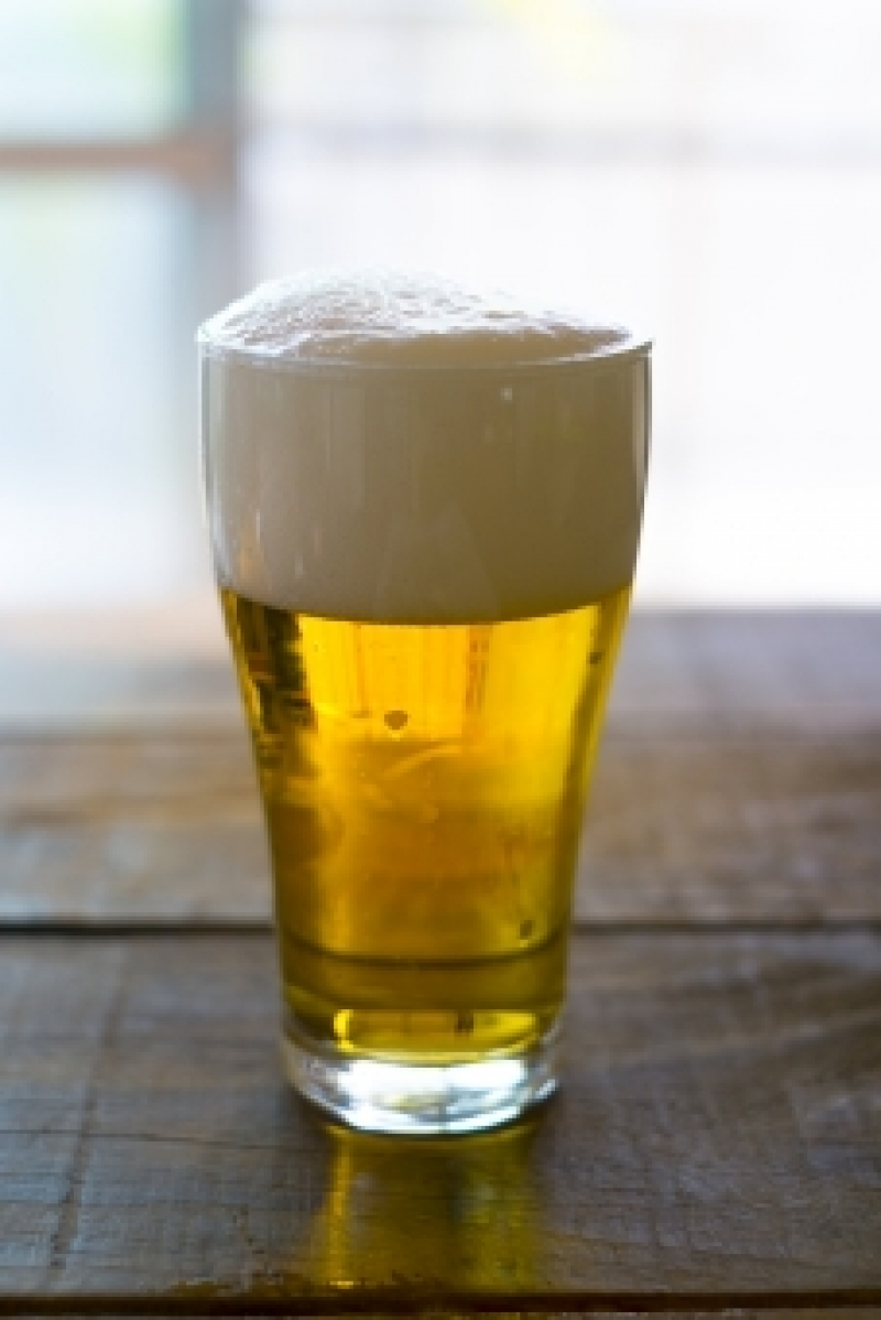 After observing the production process, you can enjoy FREE BEER up to 3 glasses. They prepare soft drink for people who don't drink beer.