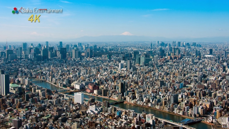 Tokyo Skytree The main attractions of Tokyo Skytree are two observation decks which are located at the height of 350 meters and 450 meters above ground respectively. Two observation decks offer spectacular views over Tokyo.