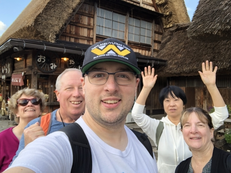 We enjoyed Shirakawago!