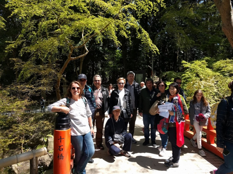 Fushimi Inari,Kyoto with guest from Turky
