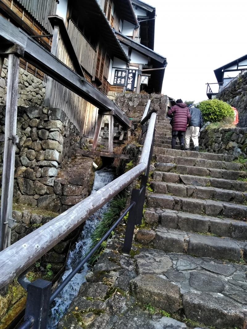 Sloping stone road (Magome)