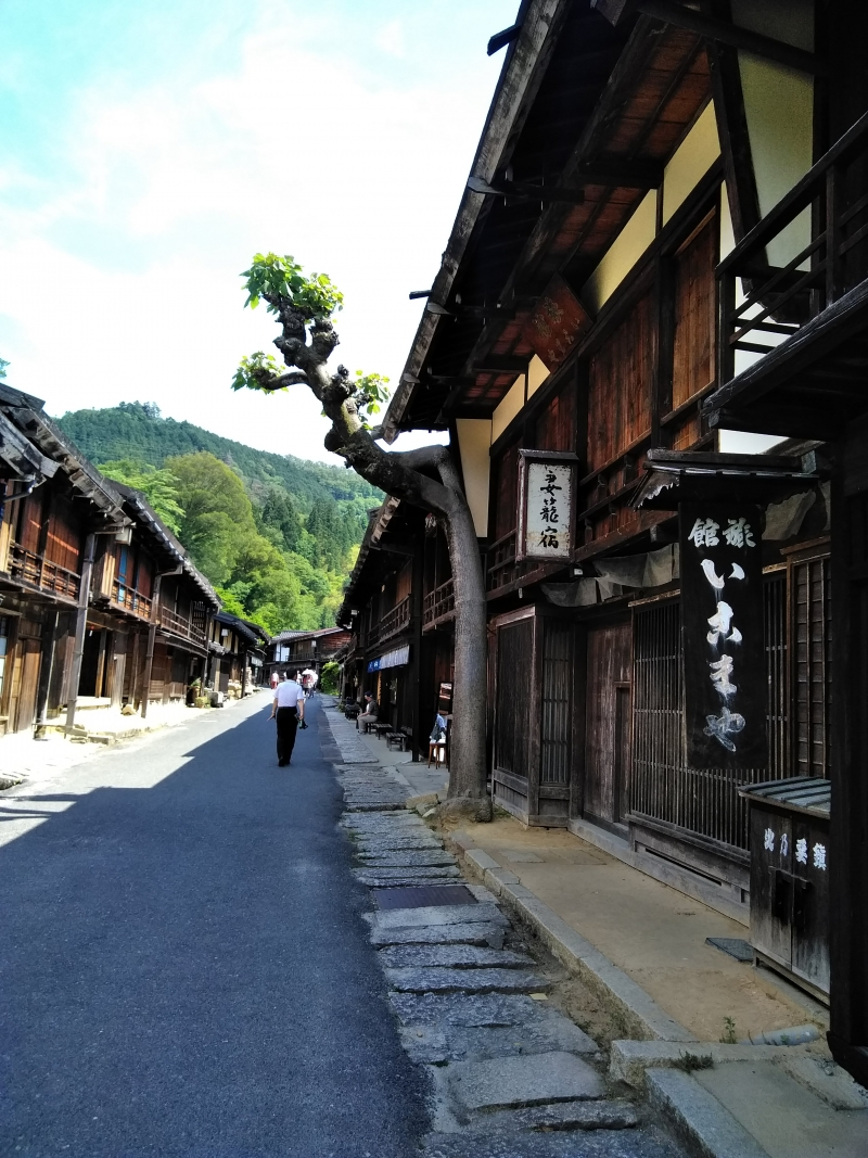 Japan's first restoration and preservation of a post town from the late Edo period (Tsumago)