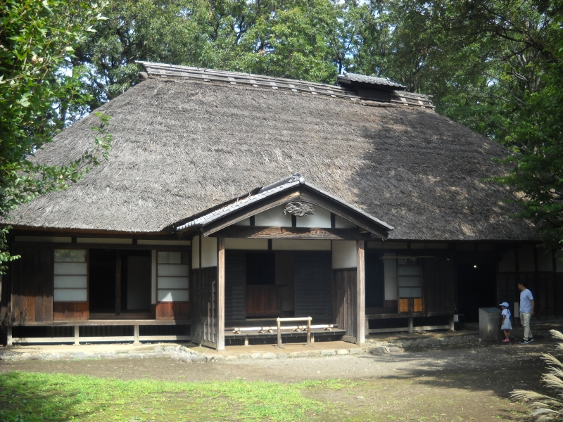 Architectual Museum : Yoshino House, farmer's house built in 250 years ago.