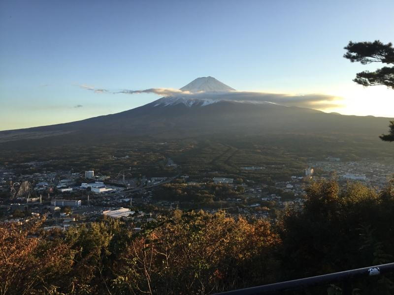 Mt.Fuji view from the summit of Mt.KachiKachi