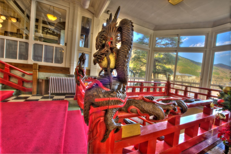 Fujiya Hotel, Hakone - Day Excursion sometimes allow access