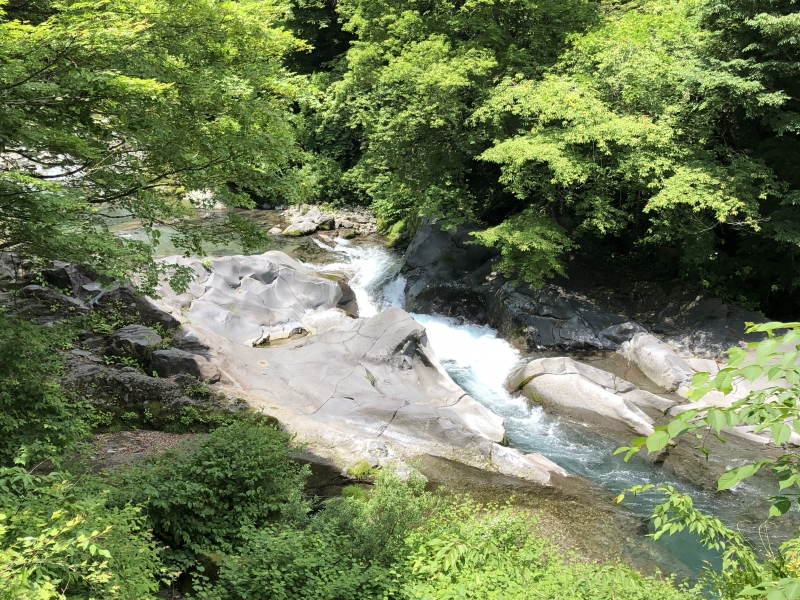 Daiya river in Kanmanngafuchi,