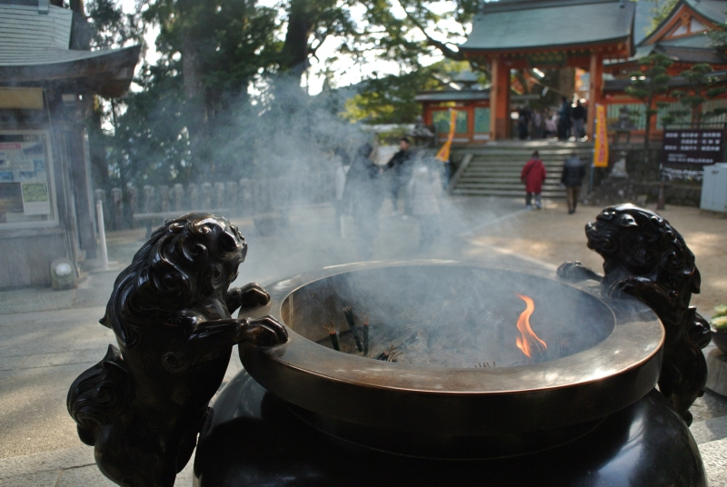Visit Japanese shrine and understand Japanese original religion.
