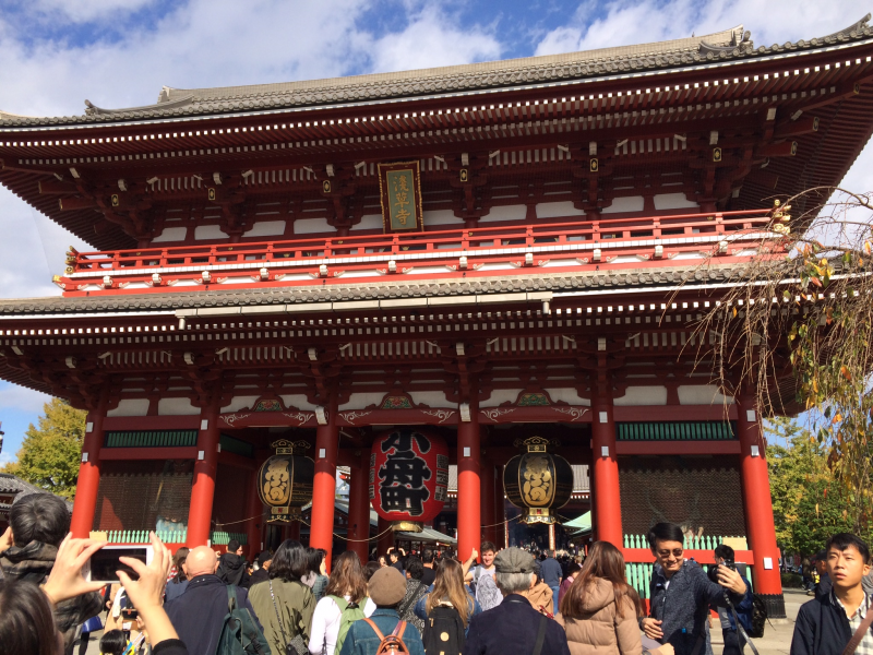 Treasure Gate of Sensoji, Asakusa