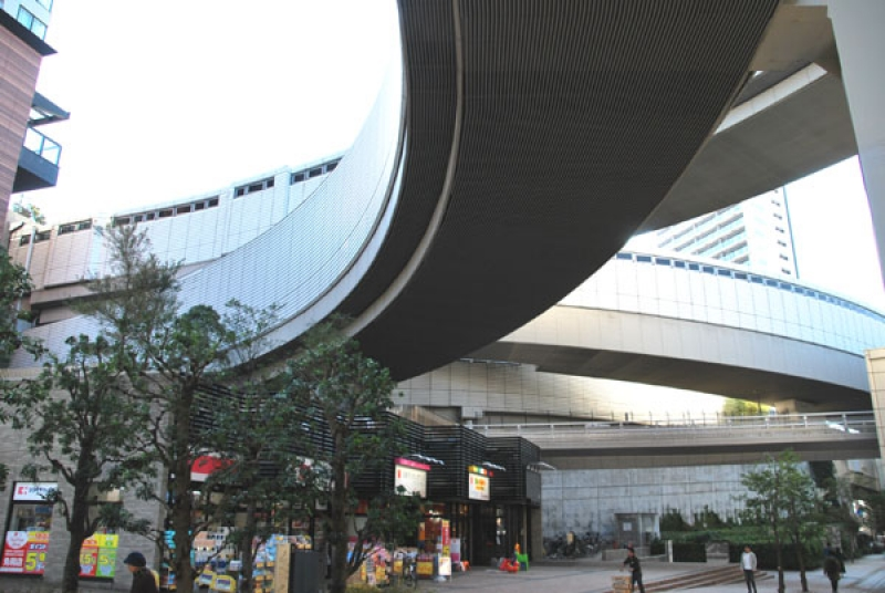 Junction of Meguro Sky Garden