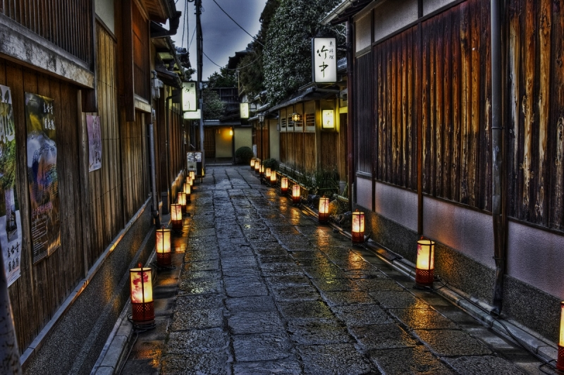 Some street at Gion area.