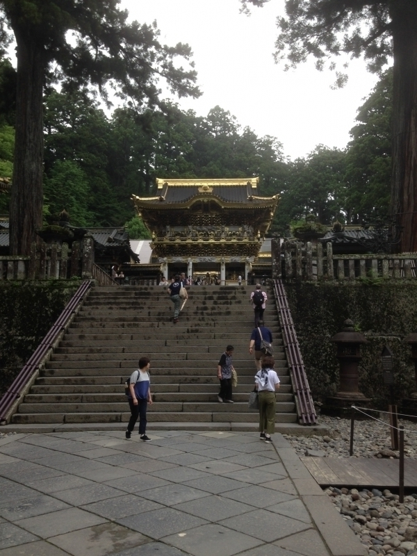 Yomeimon Gate (National Treasure) This is the most gorgeous gate.