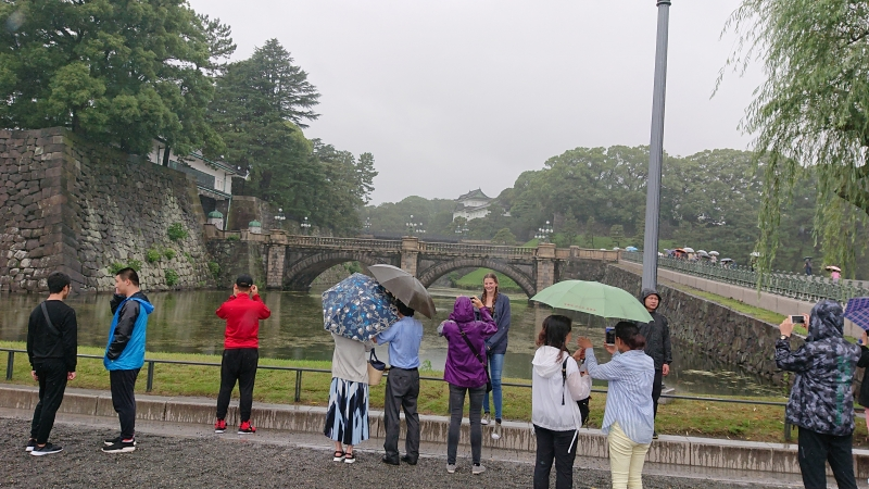 Double bridge at Imperial palace