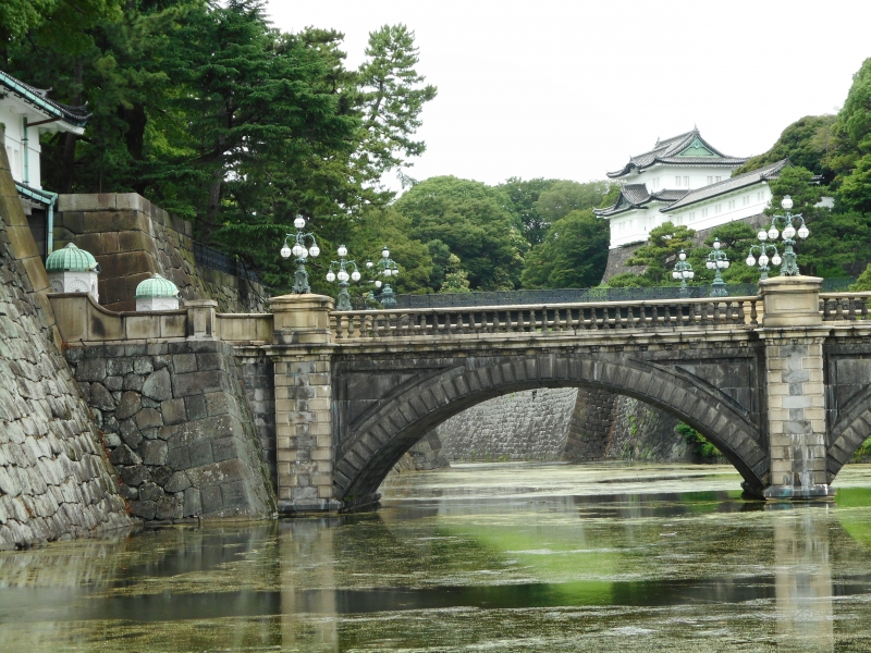 The most-filmed location in the Imperial Palace.