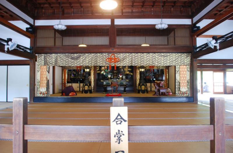 Hojo in Kenchoji Temple, where Zen training is Held
