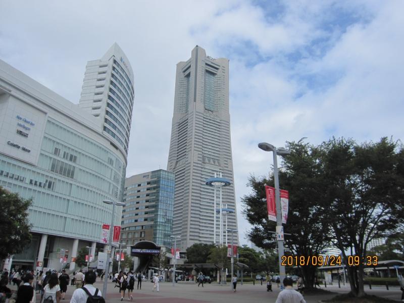 Landmark Tower:At the Sky Garden on the 69th floor you can see Yokohama port.