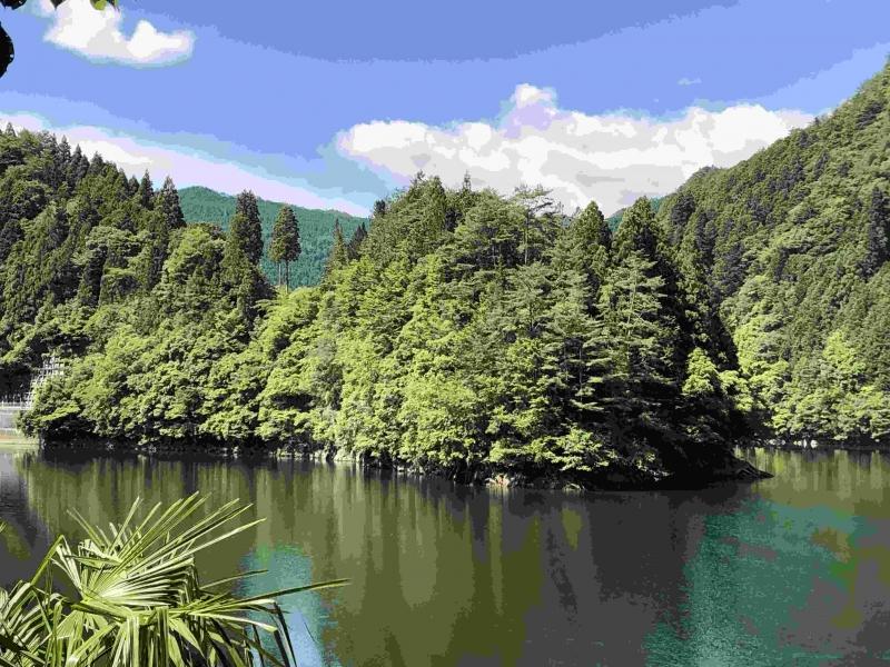 The lake of
