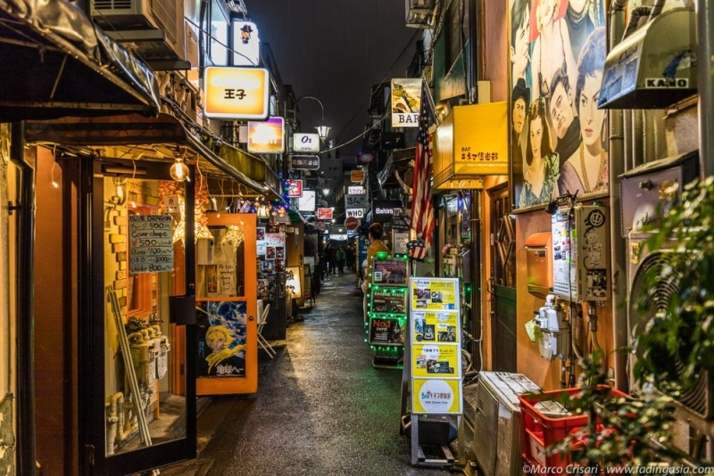Golden Gai - Shinjuku. Where many niche small pubs and bars all gather and co-exist.