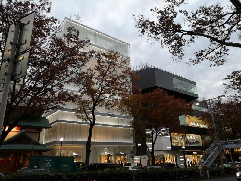 Dior Building on Omotesando Avenue