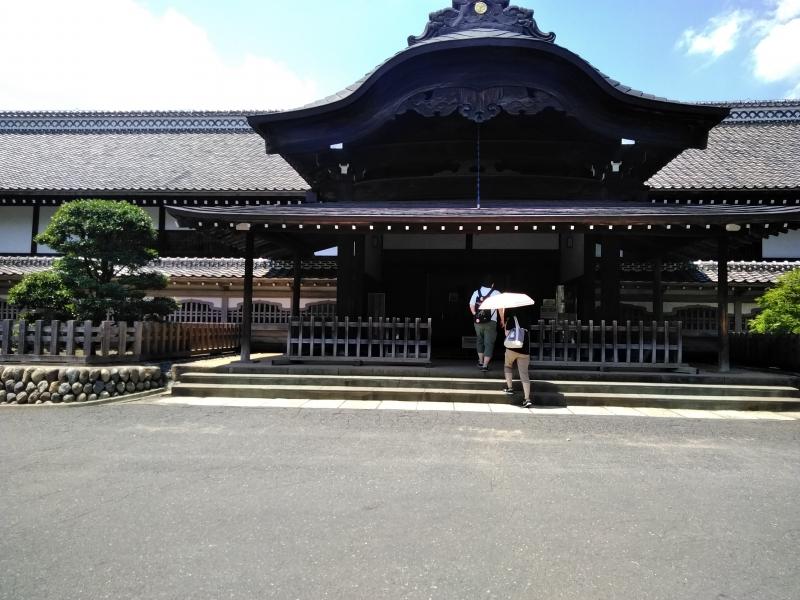 Honmaru Goten (el salón principal del castillo) en el castillo de Kawagoe